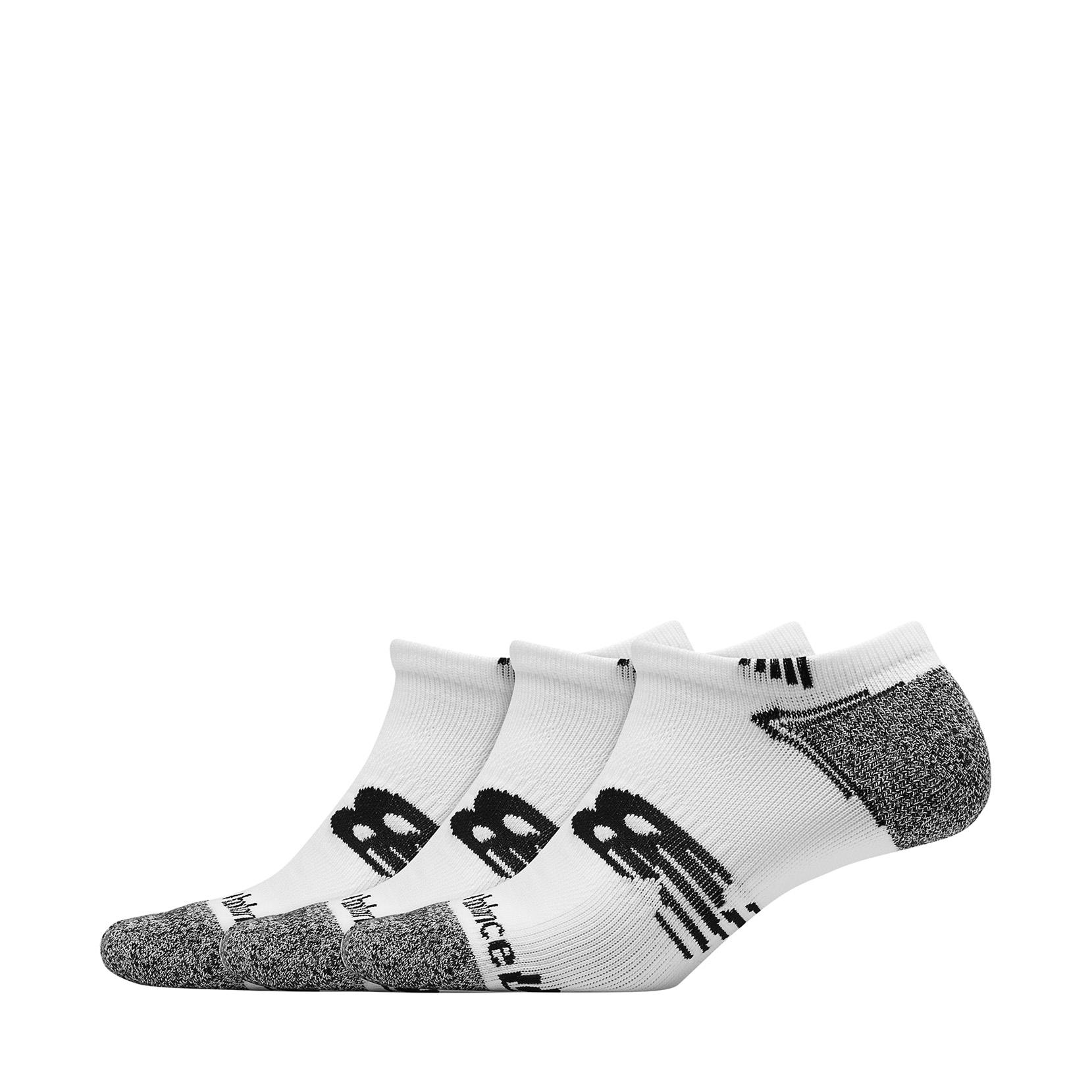 Шкарпетки Run No-Show (3 пари) LAS44223_WT | New Balance
