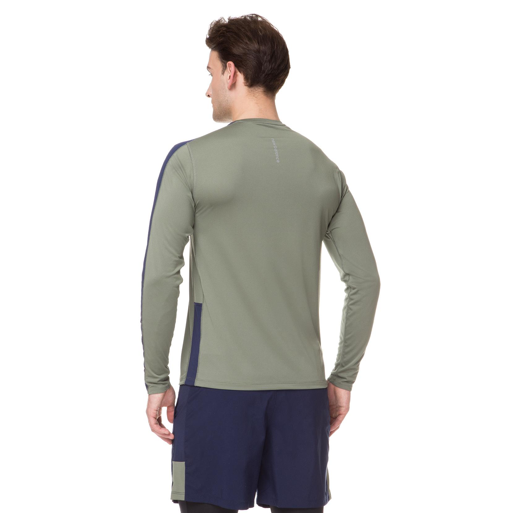 Футболка з довгим рукавом NB Accelerate  для чоловіків MT73063MGN | New Balance