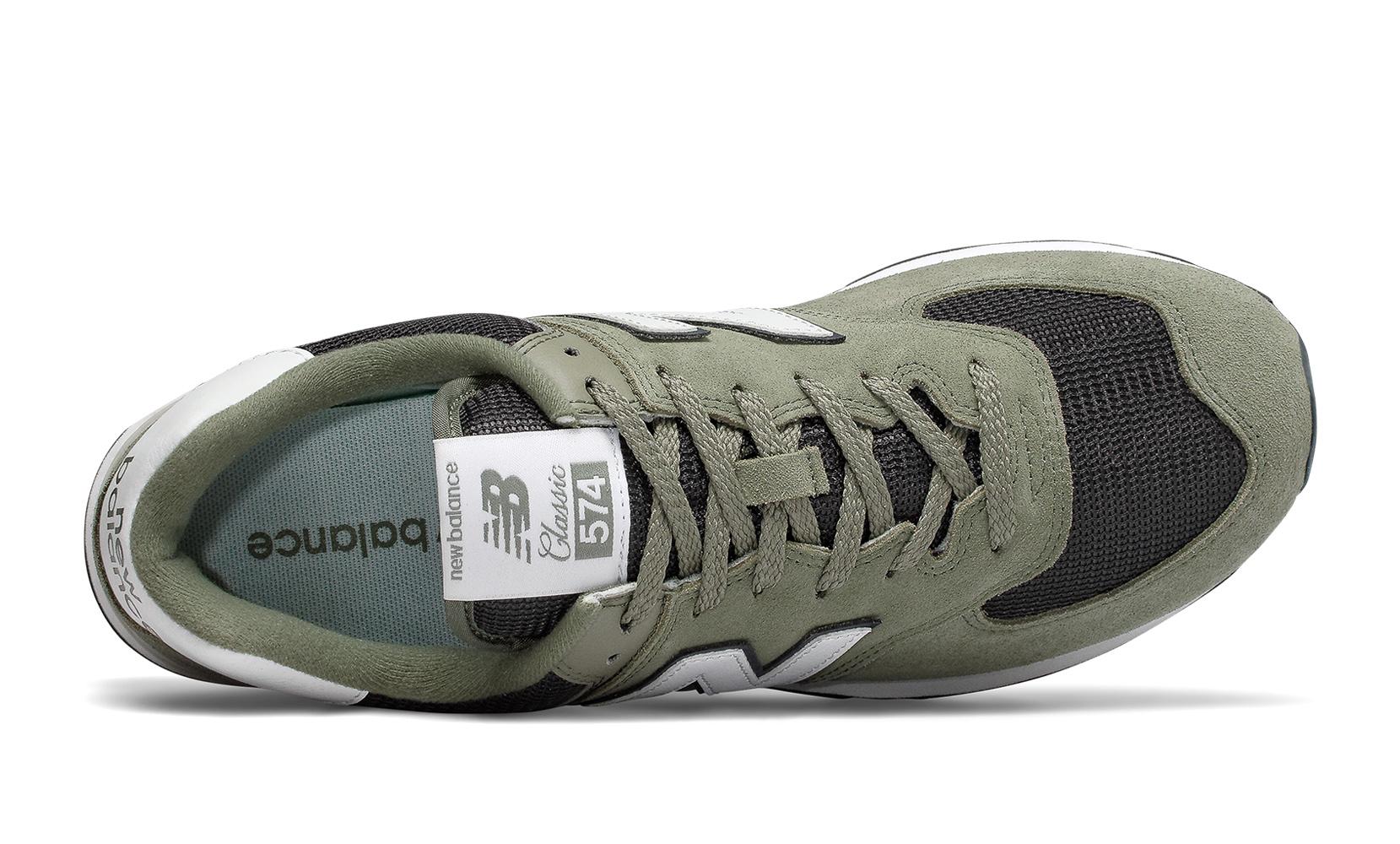 Чоловіче взуття повсякденне Кросівки чол. 574 зелений ML574ESP  cd40c21e17709
