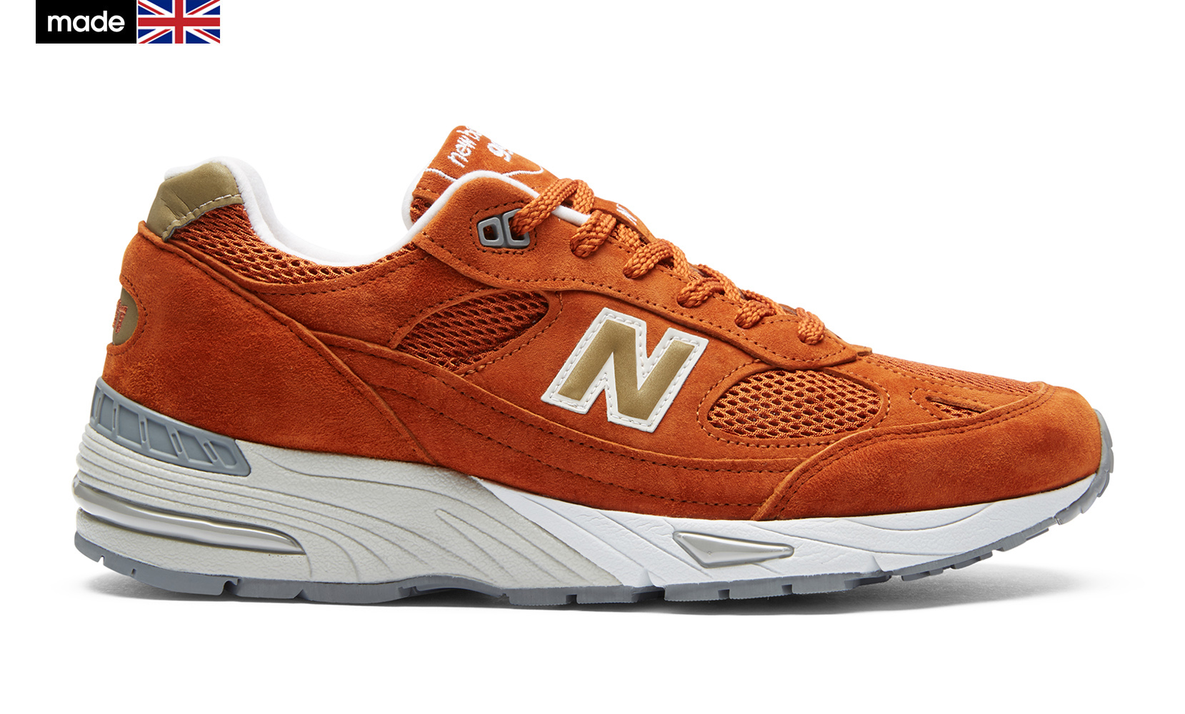 Чоловіче взуття повсякденне New Balance 991 Made in UK M991SE | New Balance