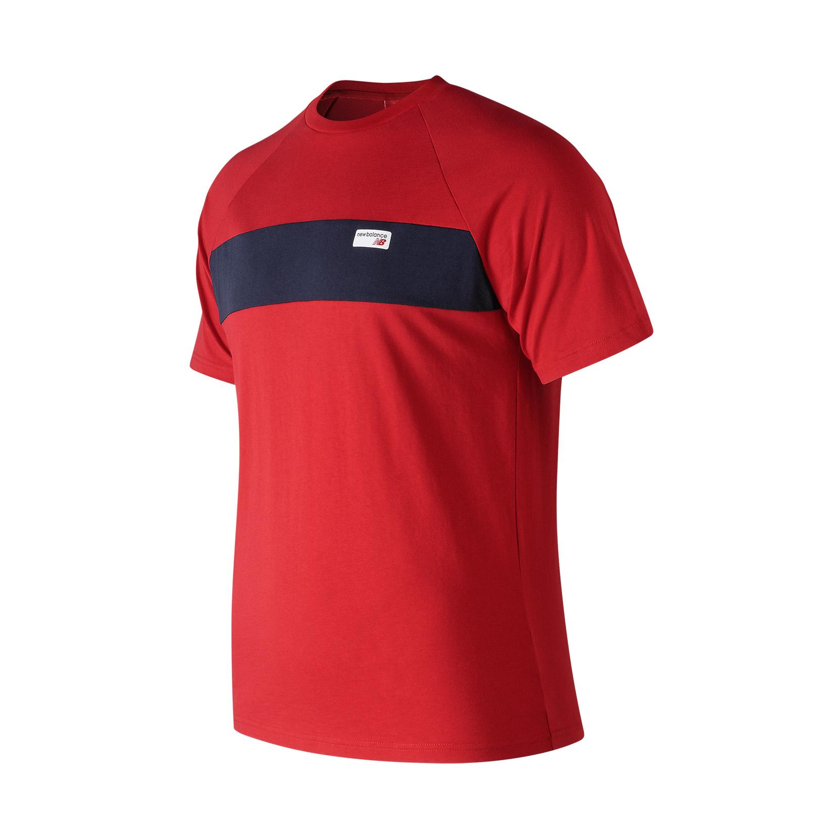 Футболка NB Athletics Raglan для чоловіків MT91510REP | New Balance