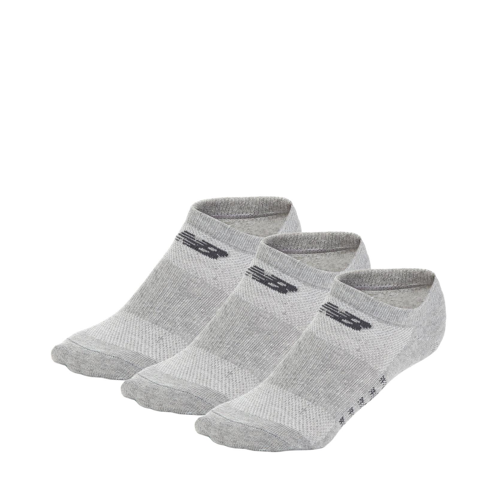 Шкарпетки No Show - Flat Knit (3 пари) N623-3EU_GRY | New Balance