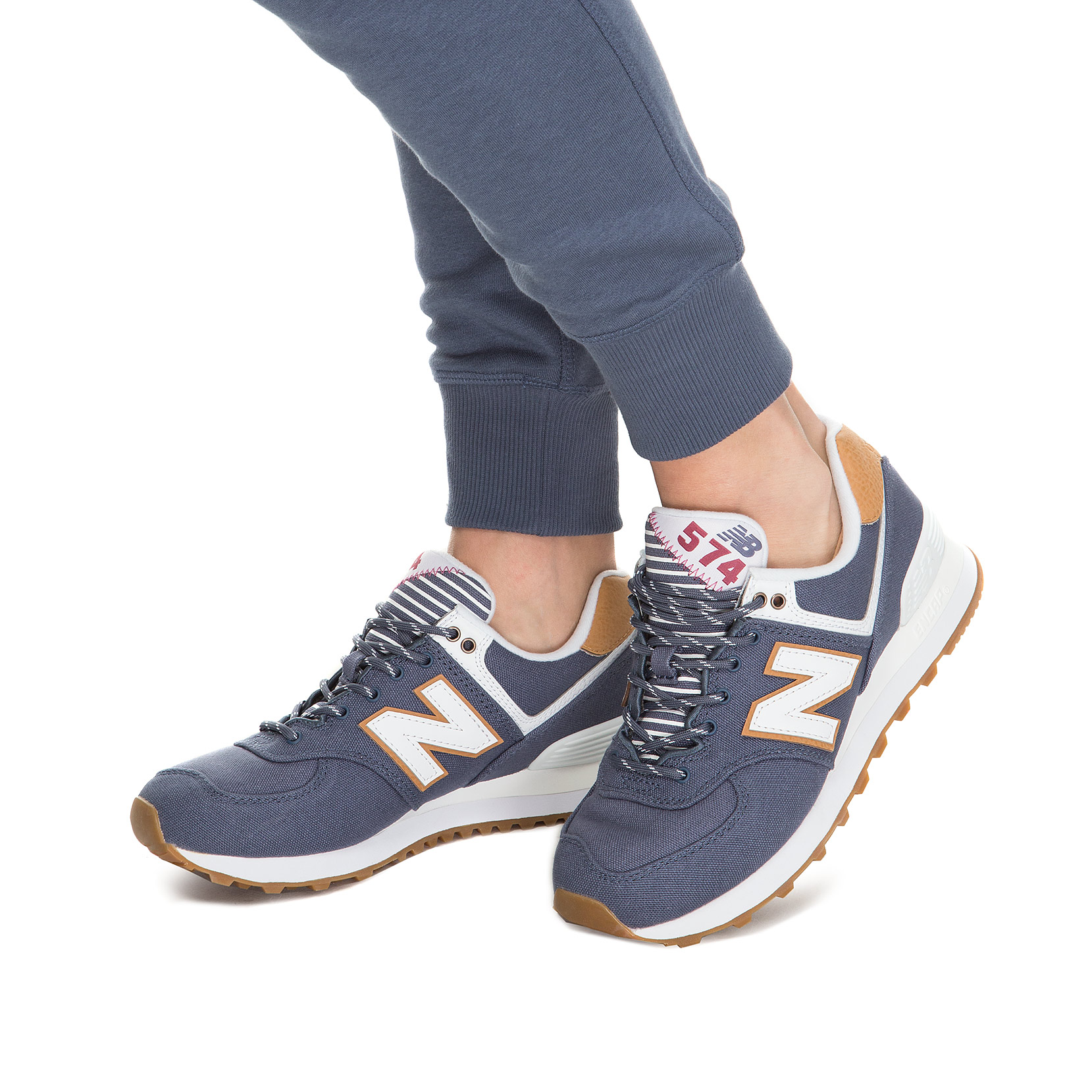Жіноче взуття повсякденне New Balance 574 Canvas WL574SYD | New Balance