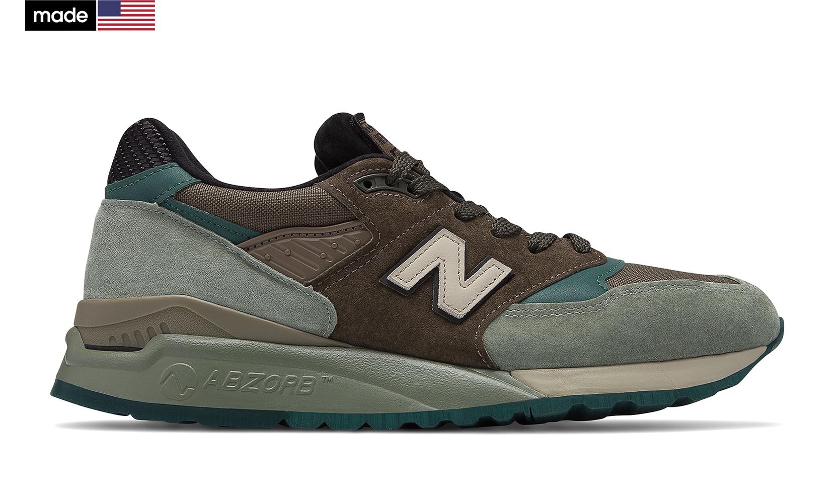Чоловіче взуття повсякденне New Balance 998 Made in US M998AWA | New Balance