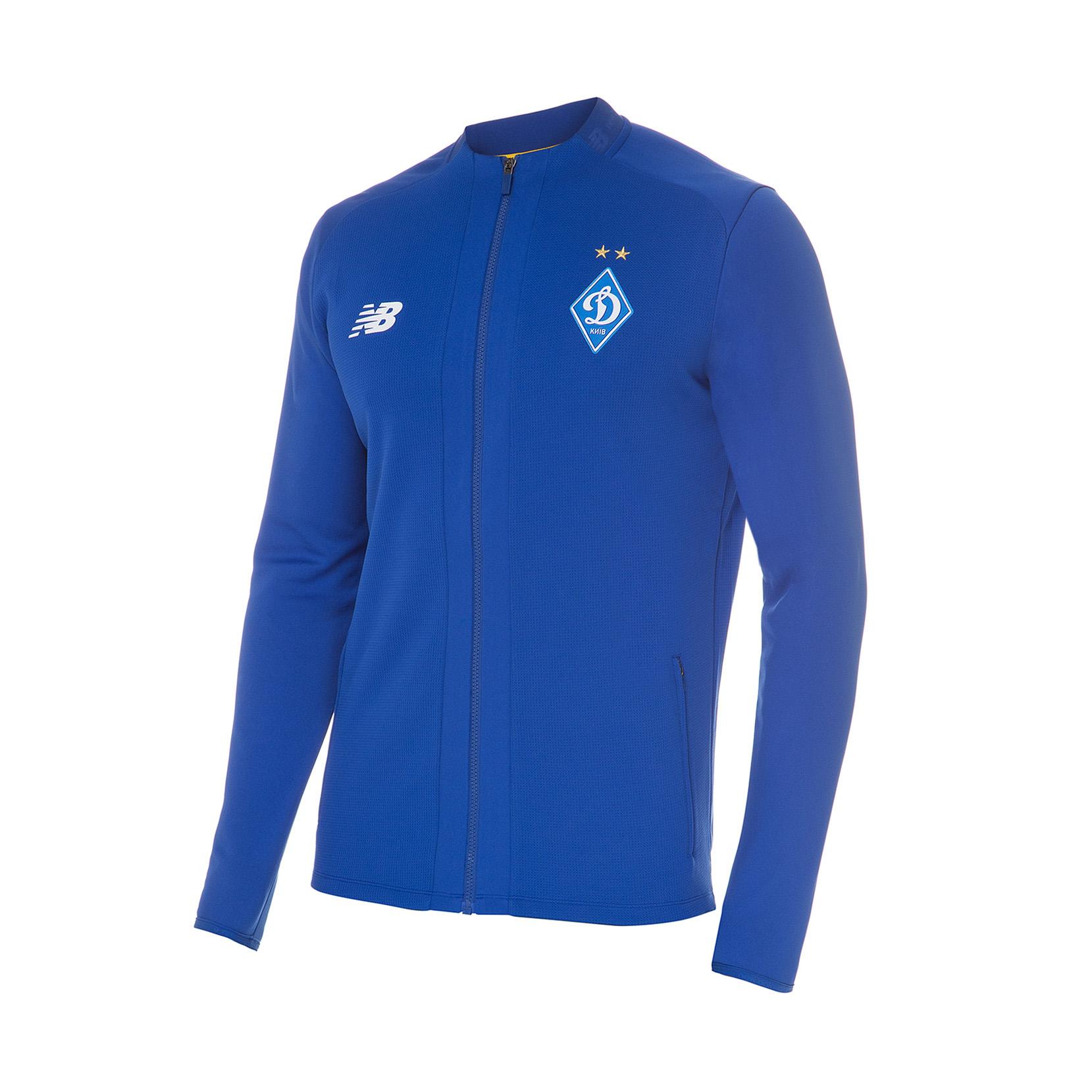 Куртка спортивна тренувальна ФК «Динамо» Київ Game для чоловіків MJ931511STW | New Balance