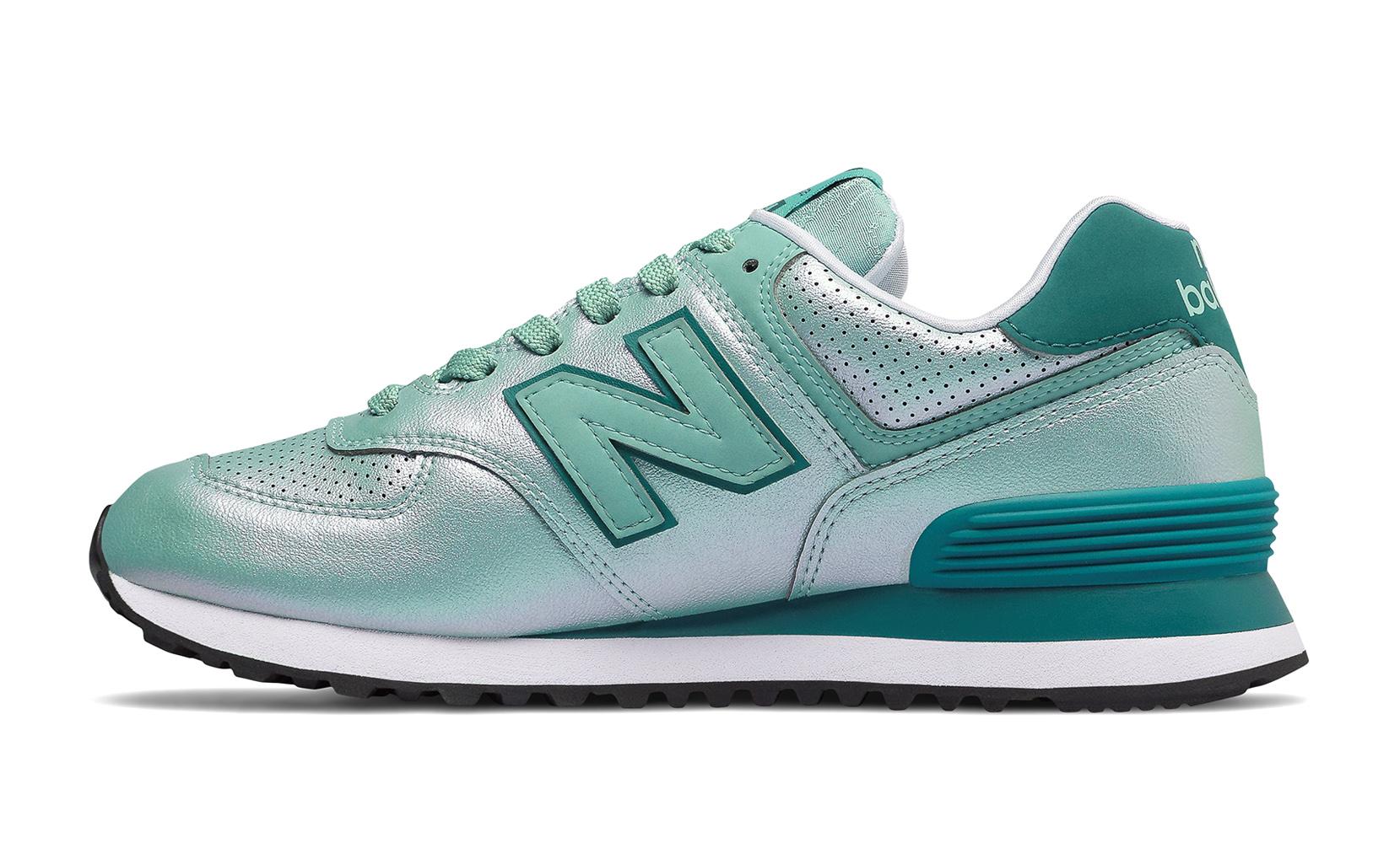 Жіноче взуття повсякденне New Balance 574 Sheen Pack WL574KSA | New Balance