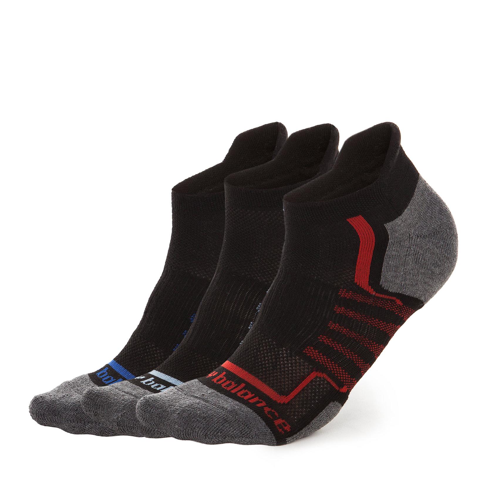 Шкарпетки WOMEN'S PERFORMANCE TAB (3 пари) N686-3EU_BLKM | New Balance
