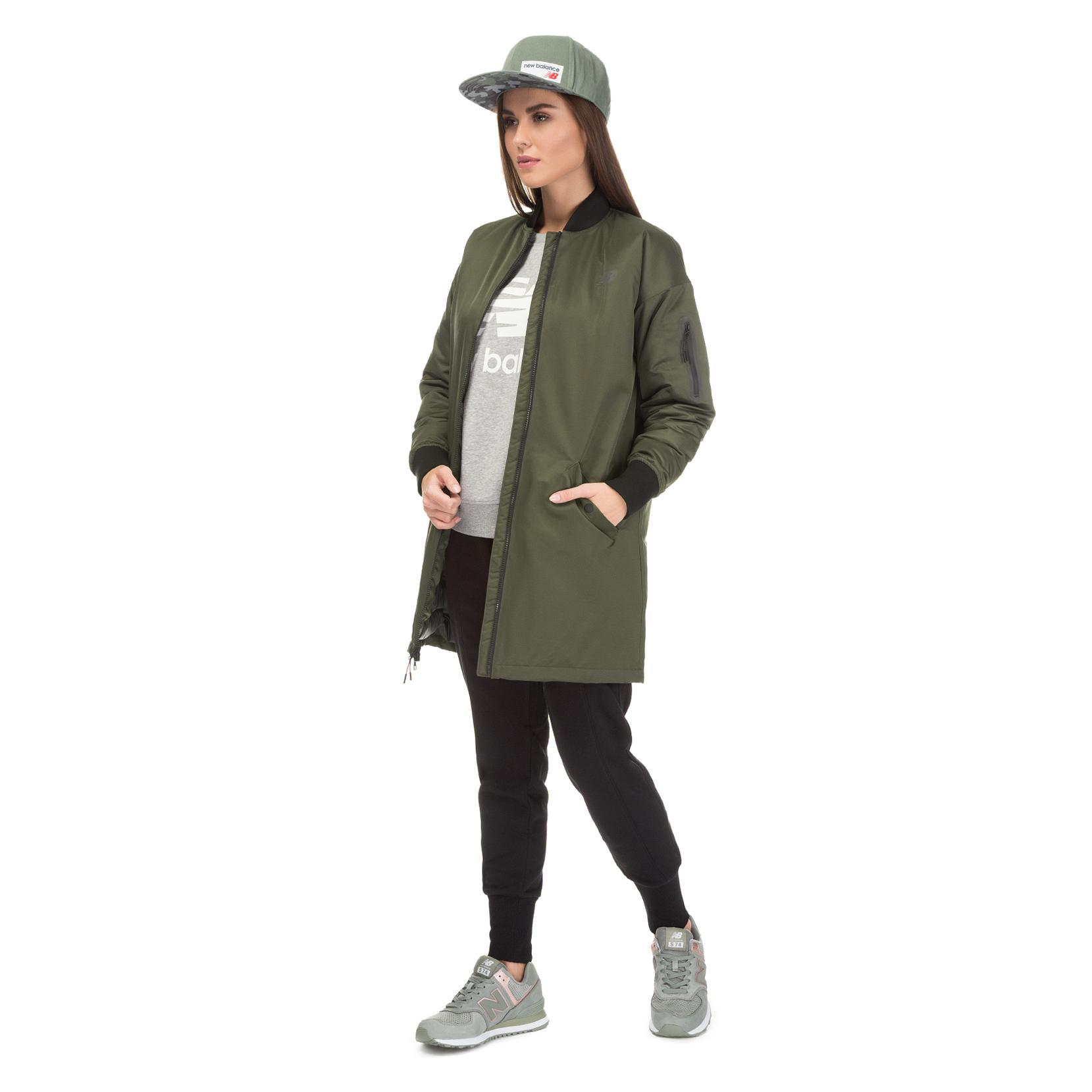 Куртка 247 Luxe MAI Flight для жінок WJ73543MKG | New Balance