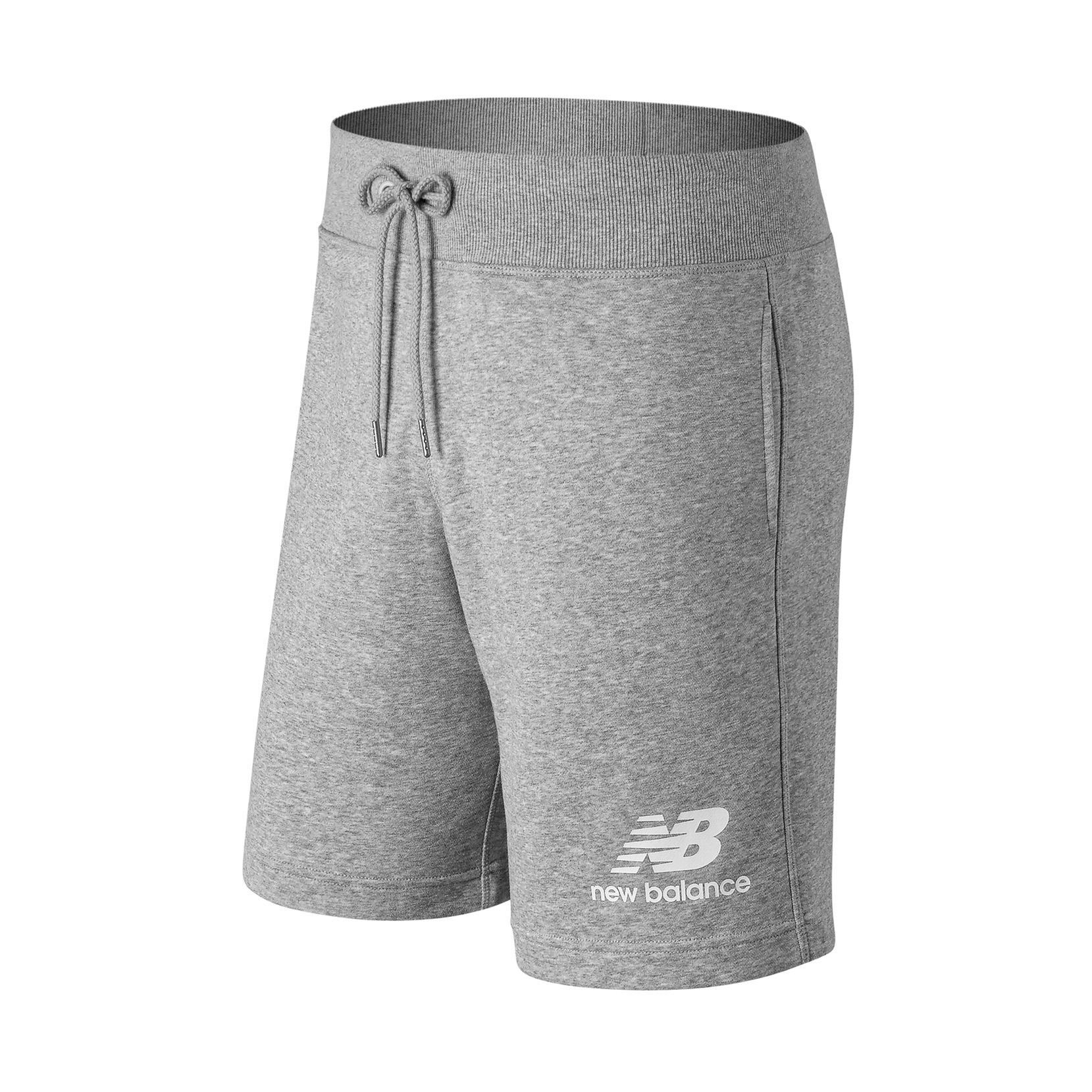 Шорти Essentials Stacked Logo  для чоловіків MS91584AG | New Balance