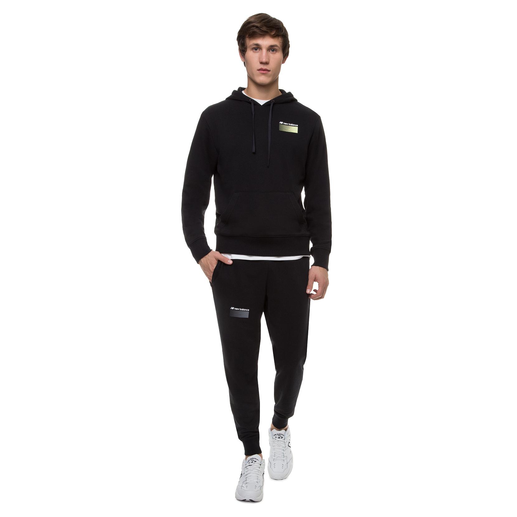 Спортивні брюки Sport Style Opticks для чоловіків MP01513BK | New Balance