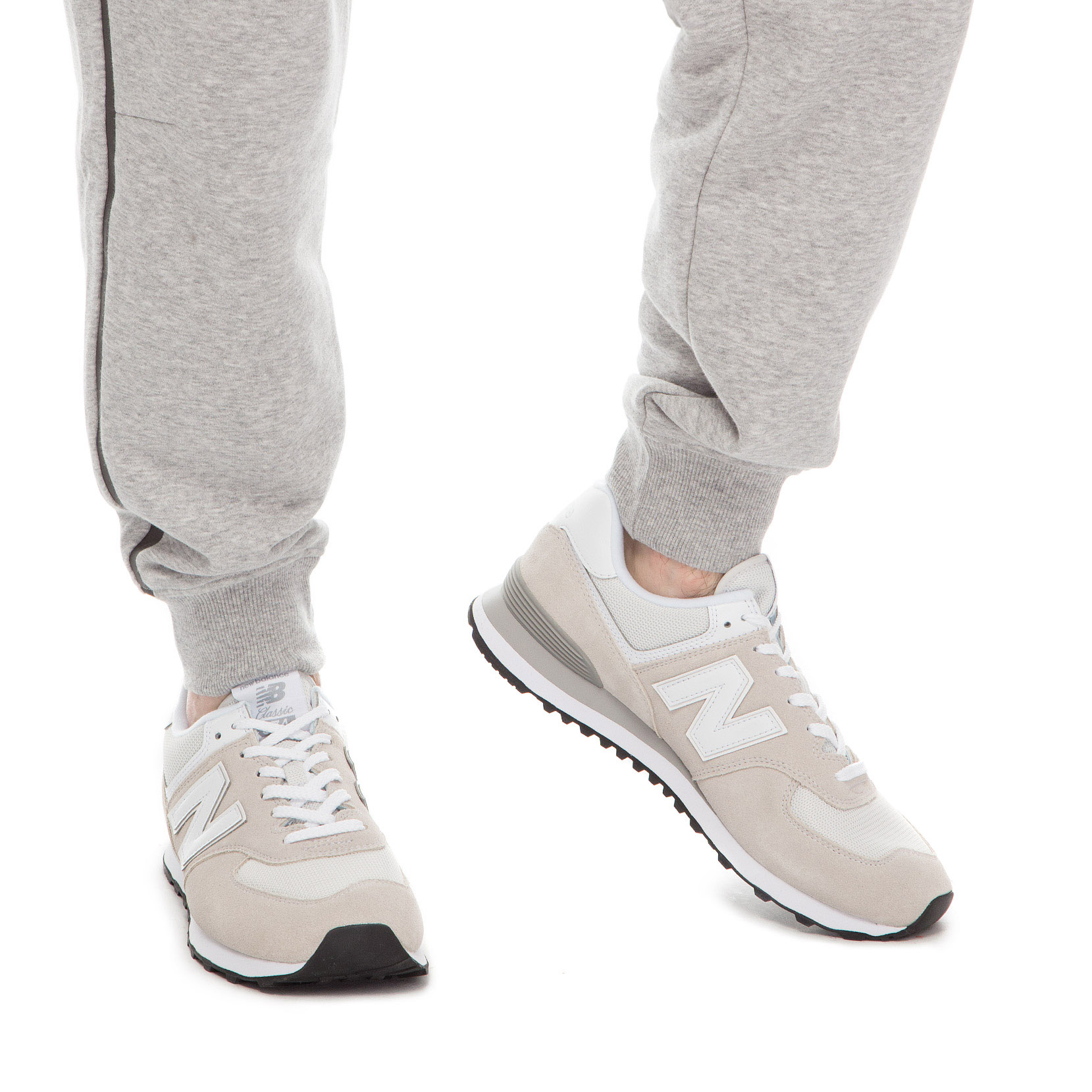 brand new f0e57 38eec Чоловіче взуття повсякденне New Balance 574 ML574EGW | New ...