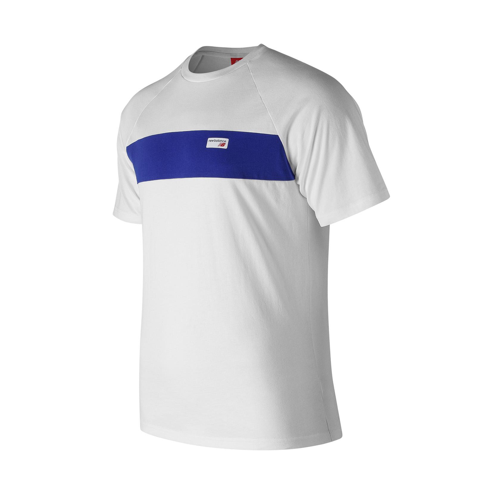 Футболка NB Athletics Raglan для чоловіків MT91510WT | New Balance