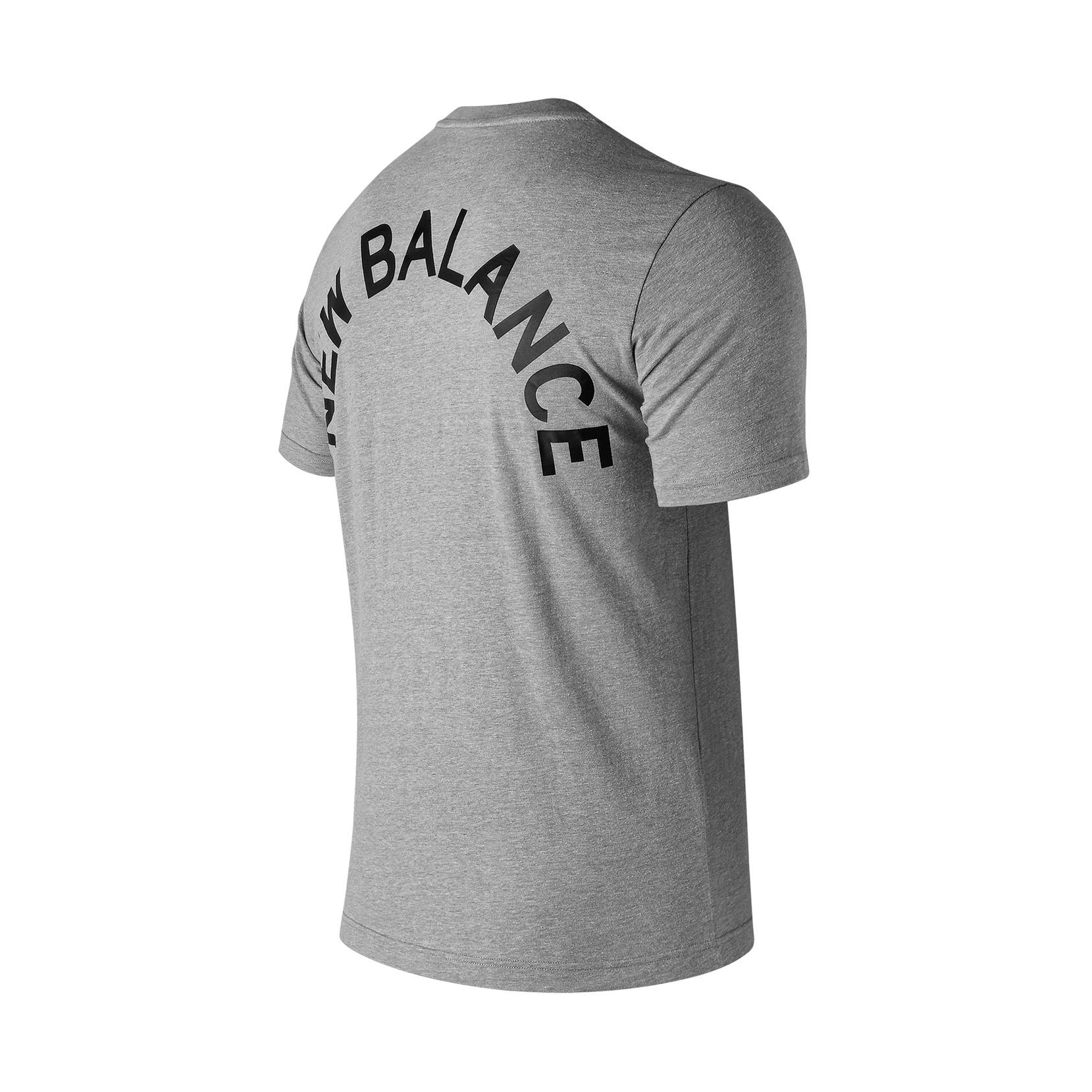 Футболка NB Arch Graphic Tee для чоловіків MT91924AGM | New Balance