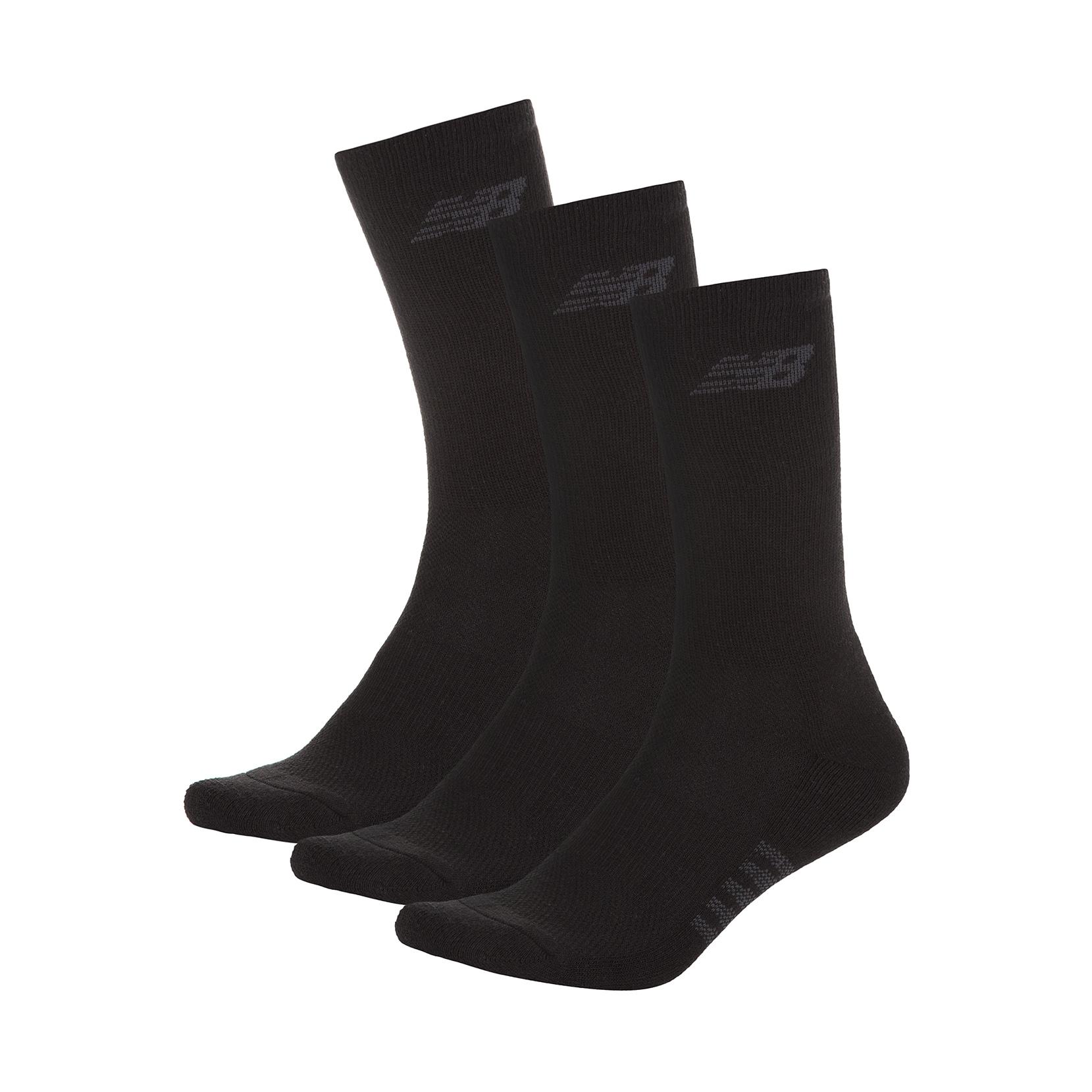 Шкарпетки Cushioned Crew (3 пари) N626-3EU_BLK | New Balance