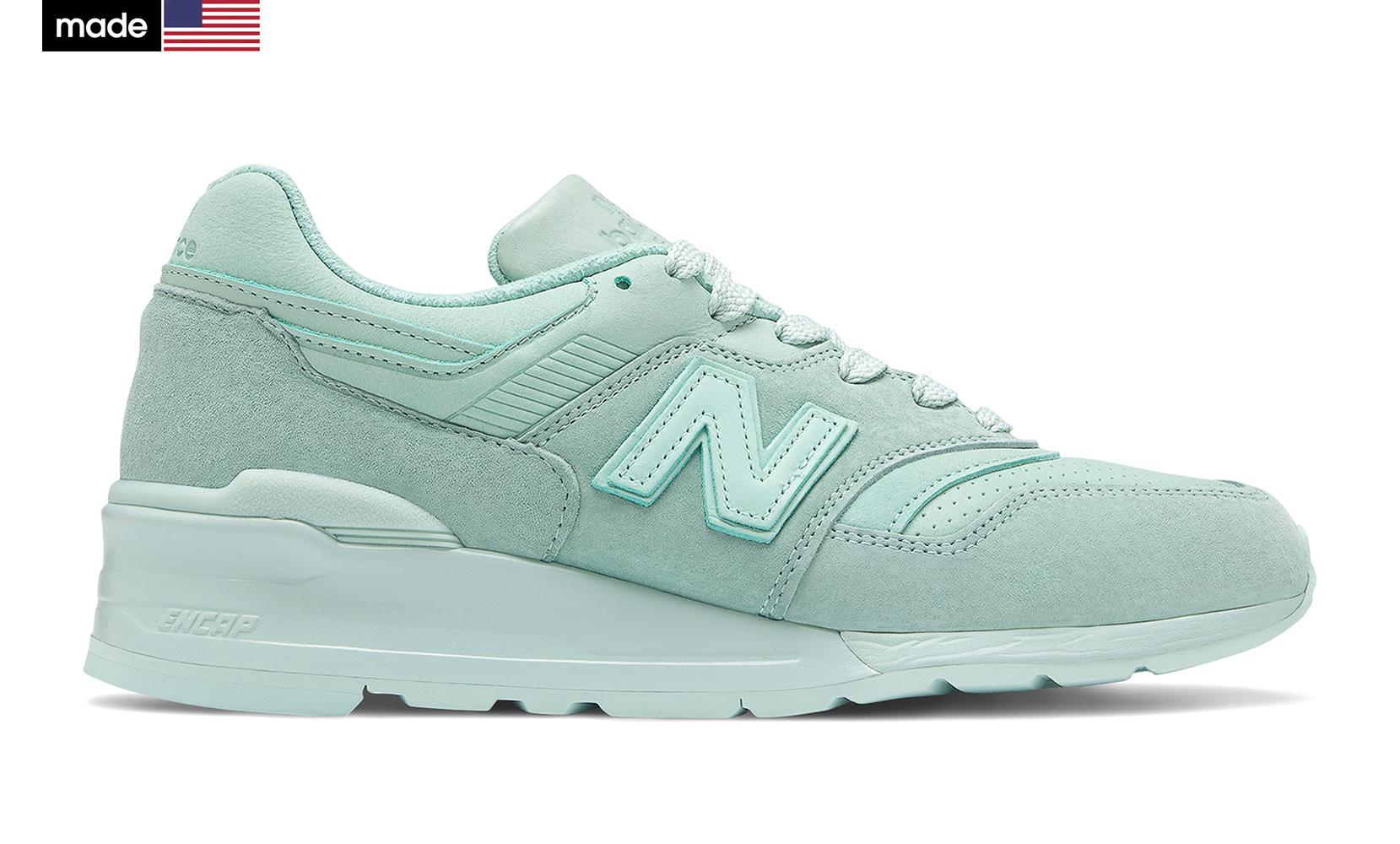 Жіноче взуття повсякденне New Balance 997 Made in USA M997LBE | New Balance