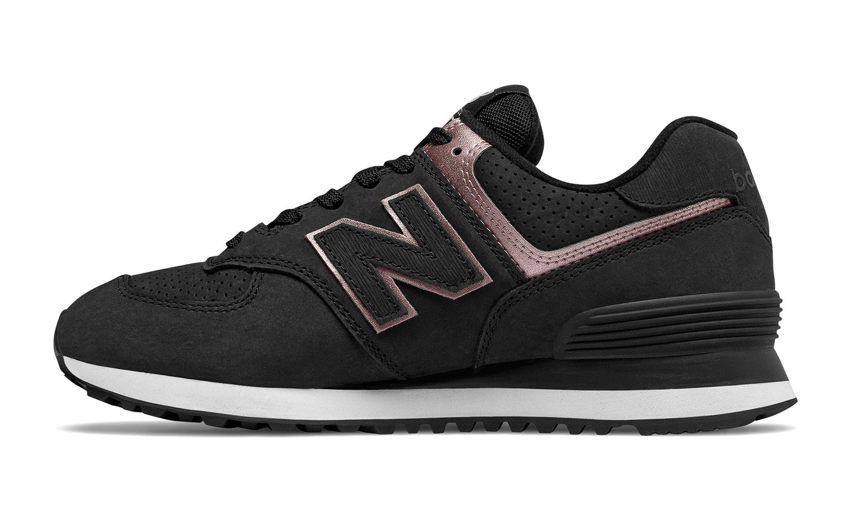 Жіноче взуття повсякденне New Balance 574 Nubuck WL574NBK | New Balance