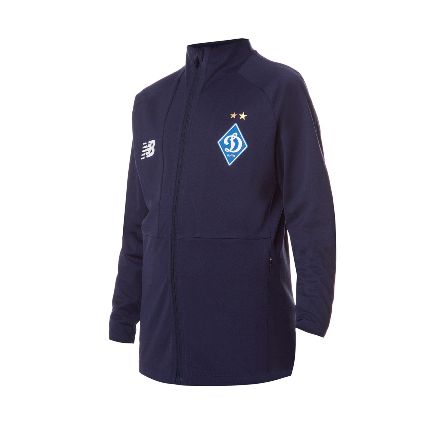 Куртка спортивна тренувальна юнацька ФК «Динамо» Київ для дітей JJ931521NV   New Balance