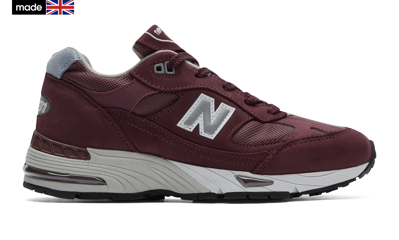 Жіноче взуття повсякденне New Balance 991 Made in UK W991BBL | New Balance