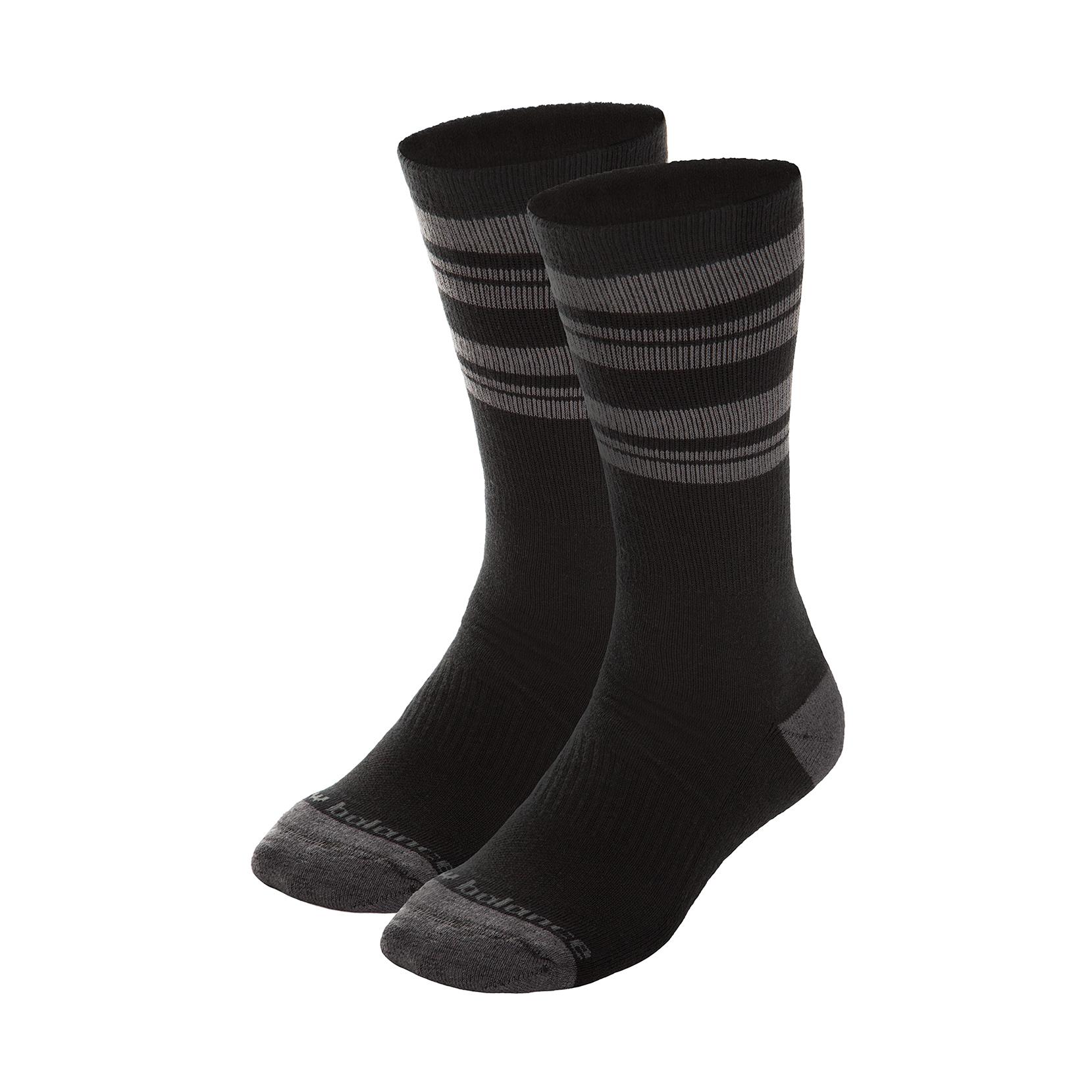Шкарпетки CREW (2 пари)  N525-2EU_BLK | New Balance