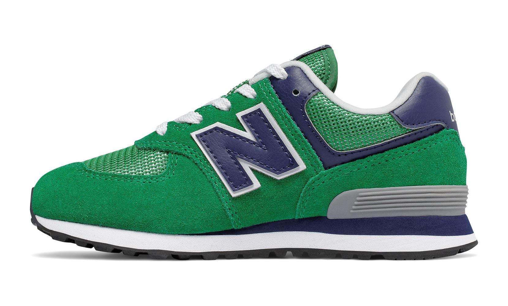 Дитяче взуття для підлітків New Balance 574 GC574GN | New Balance