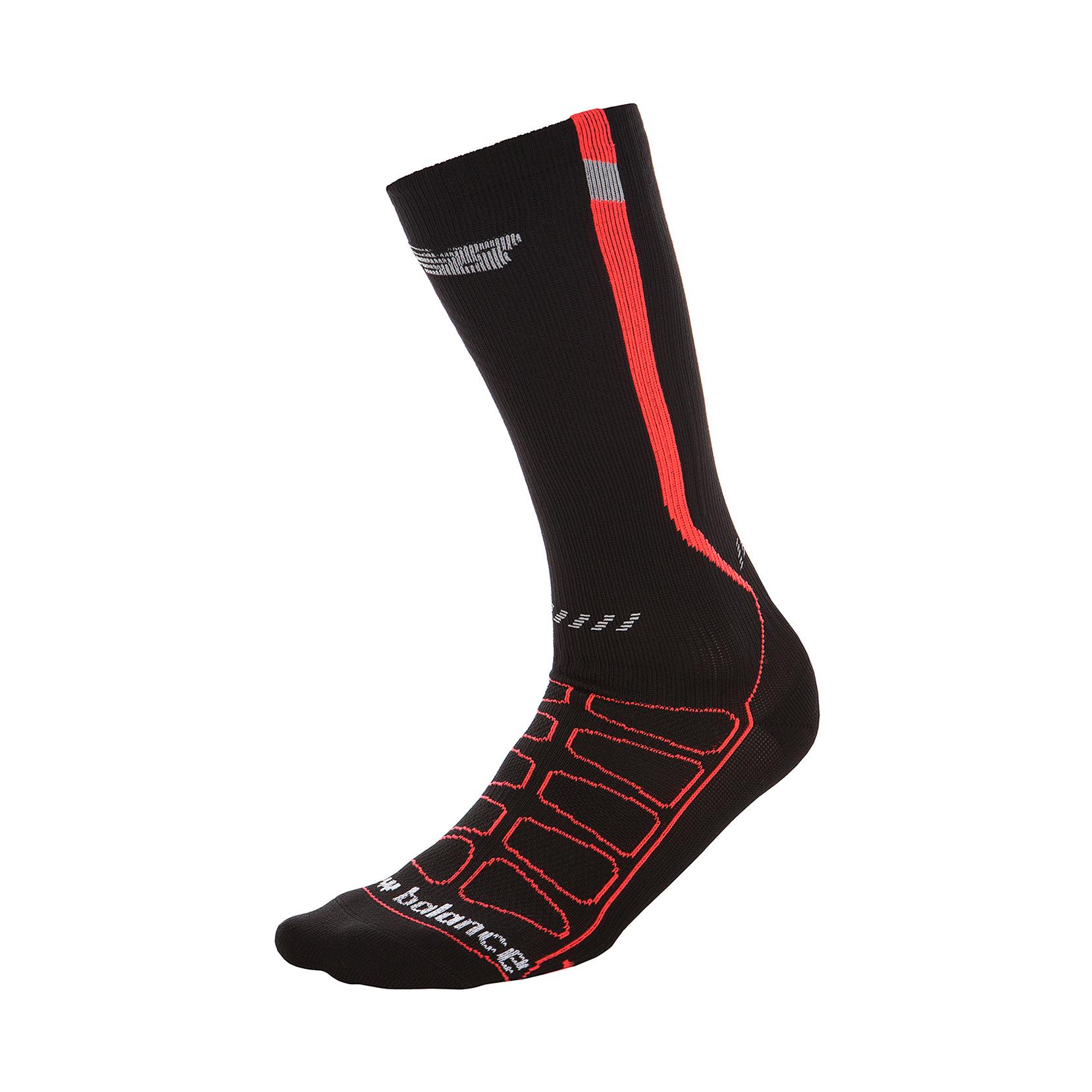 Шкарпетки REFLECTIVE COMPRESSION N393-1EU_BK/RD | New Balance