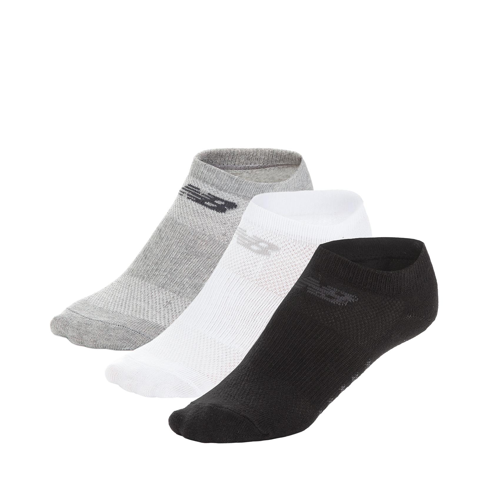 Шкарпетки No Show - Flat Knit (3 пари) N623-3EU_AST | New Balance