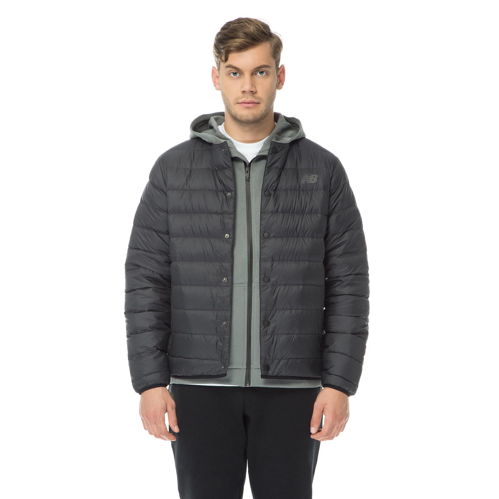 Куртка 247 Luxe Snap  для чоловіків MJ73549BK   New Balance