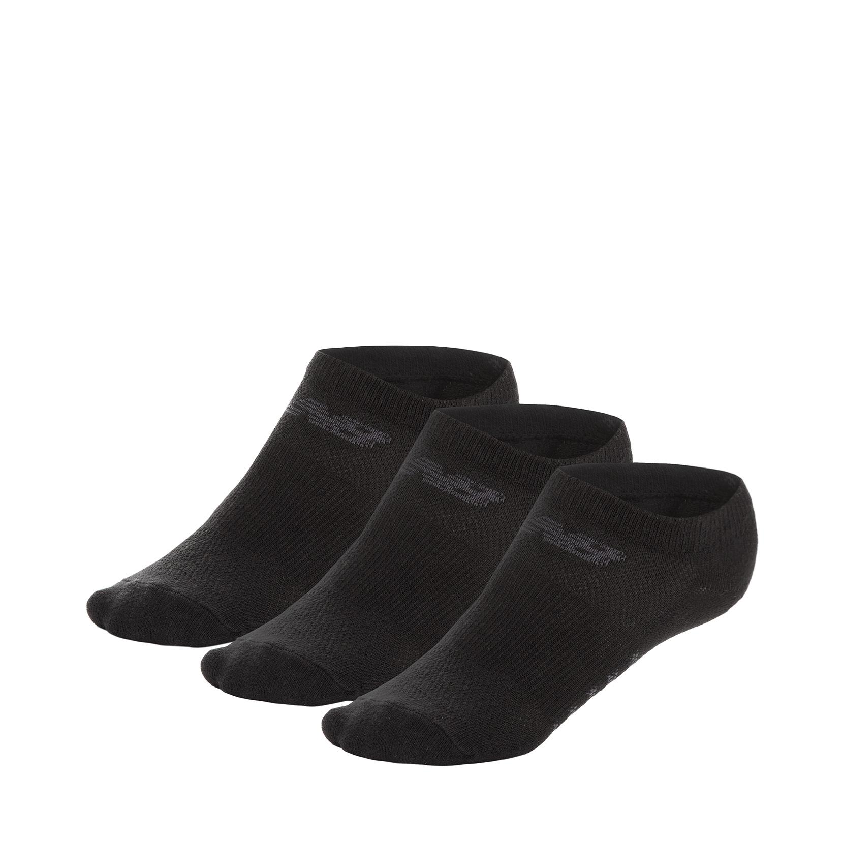 Шкарпетки No Show - Flat Knit (3 пари) N623-3EU_BLK | New Balance