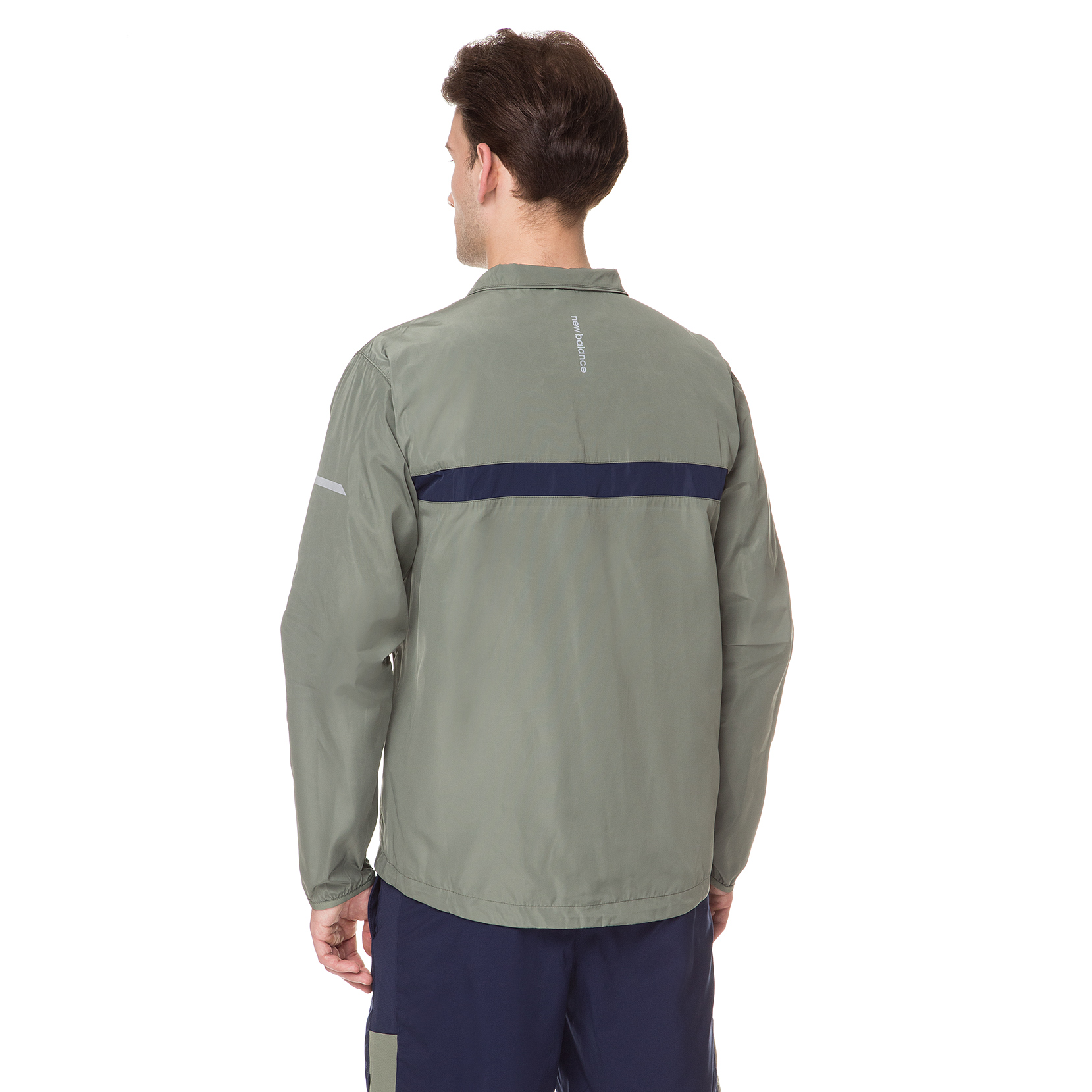 Вітрозахисна куртка Windcheater 2.0 для чоловіків MJ91180MGN | New Balance
