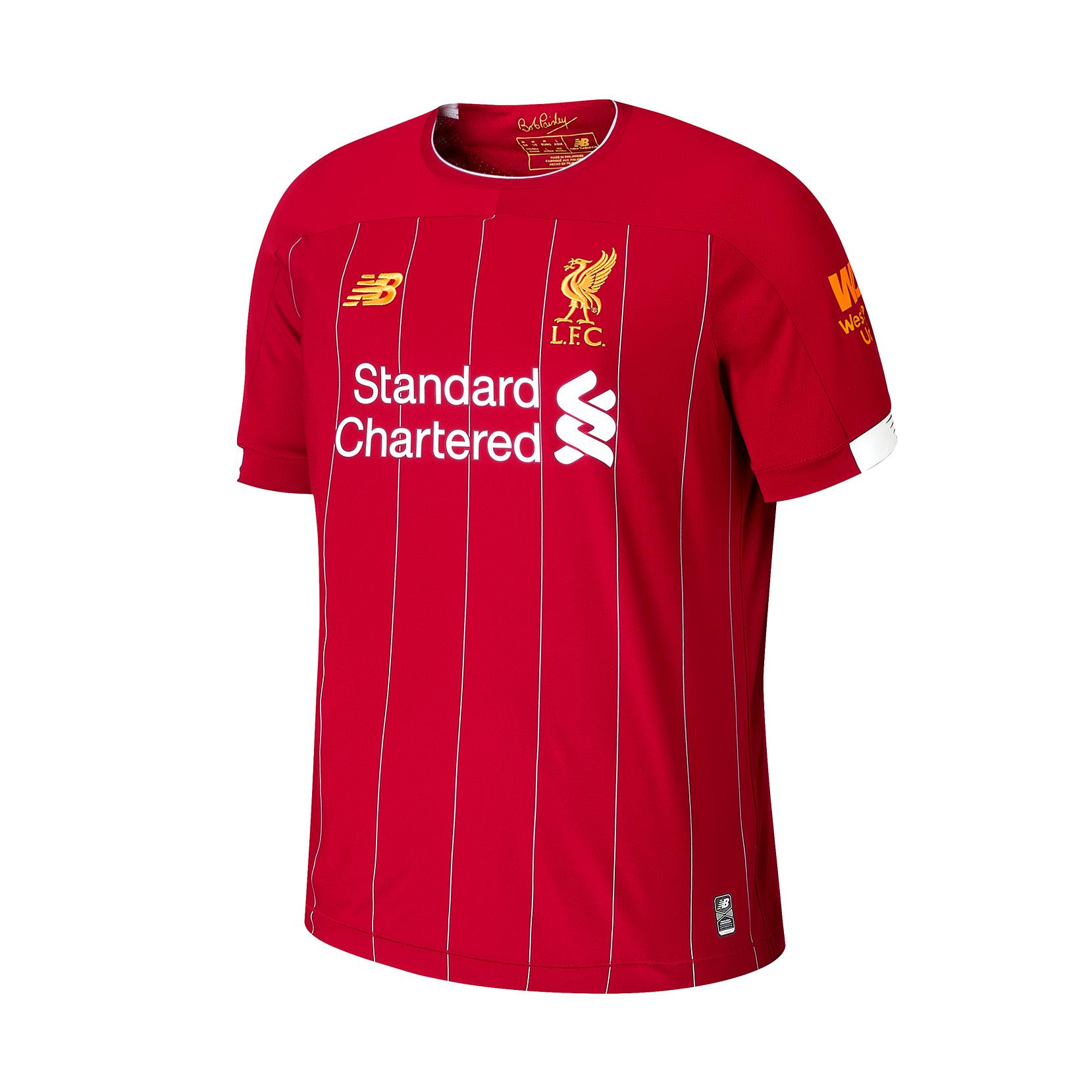 Футболка ФК «Ліверпуль» для чоловіків MT930000HME | New Balance