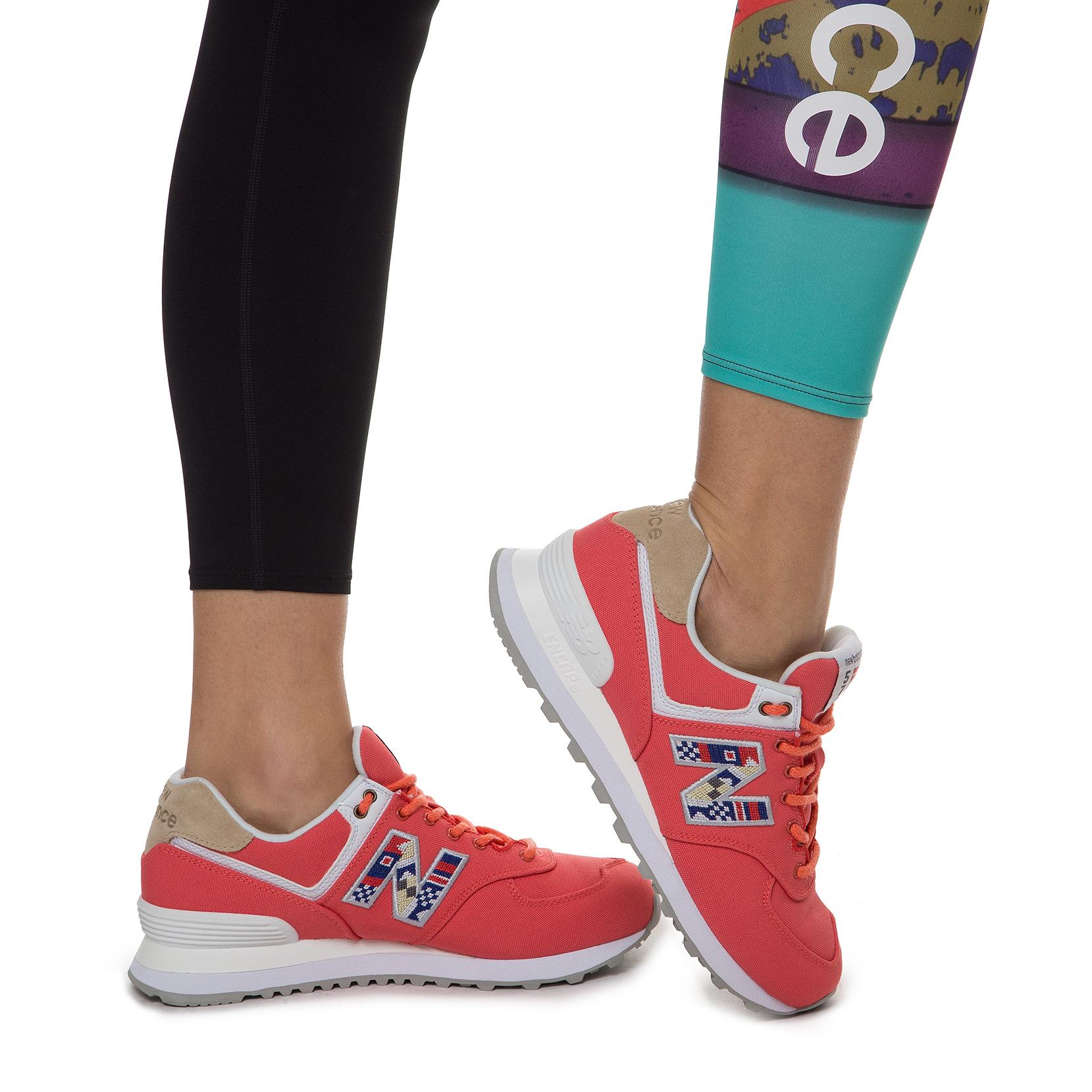 Жіноче взуття повсякденне New Balance 574 Canvas  WL574SOF | New Balance