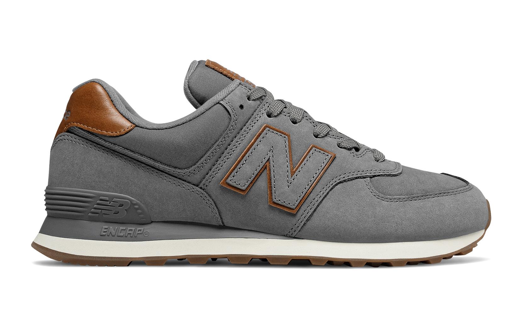 Чоловіче взуття повсякденне New Balance 574 Nubuck ML574NBA | New Balance