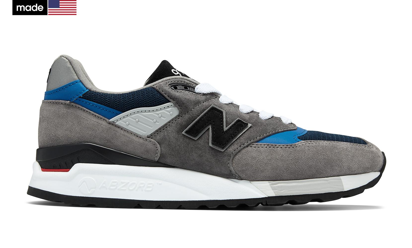 Чоловіче взуття повсякденне New Balance 998 Made in US M998NF | New Balance