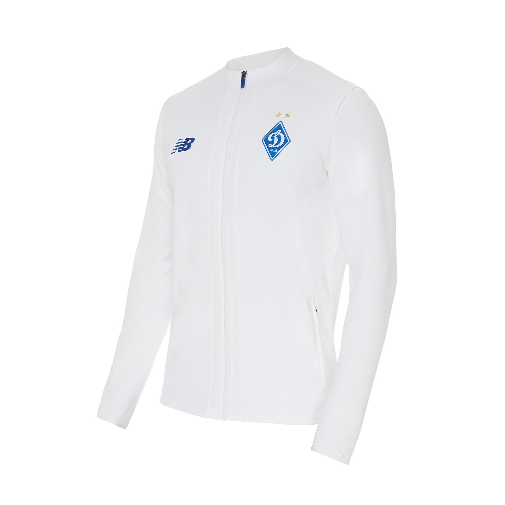 Куртка спортивна тренувальна ФК «Динамо» Київ Game для чоловіків MJ931511WT   New Balance