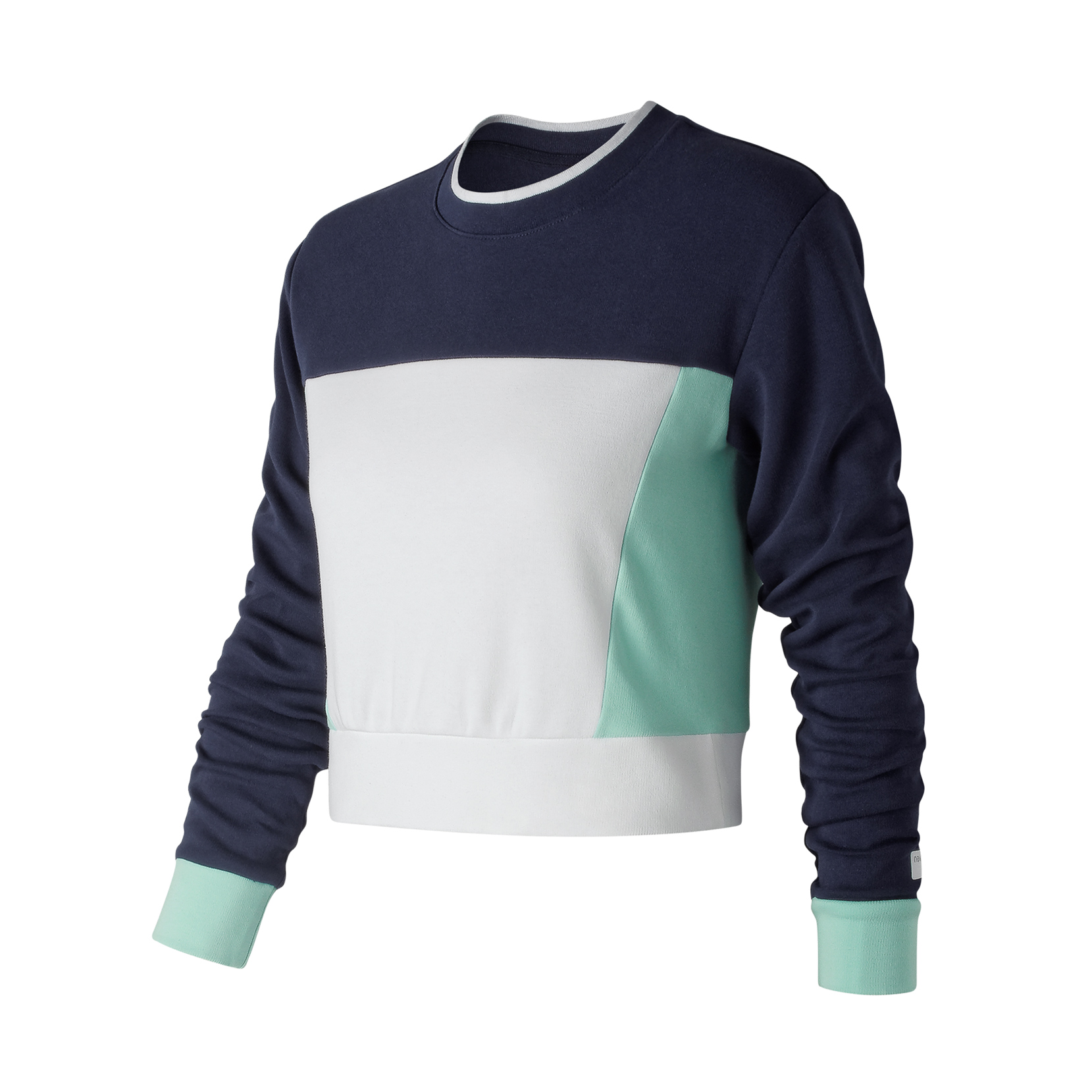 Світшот NB Athletics LS Crop для жінок WT91556PIW | New Balance