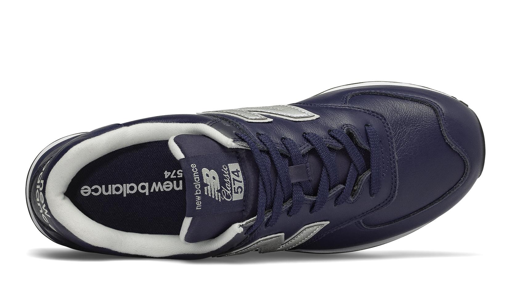 Чоловіче взуття повсякденне New Balance 574 Leather ML574LPN | New Balance